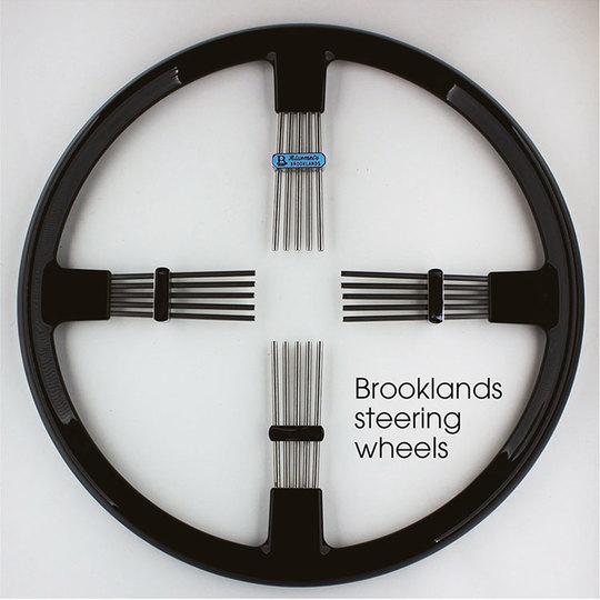 Brooklands steering wheels