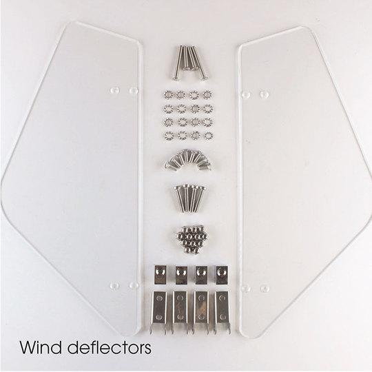 Wind deflectors